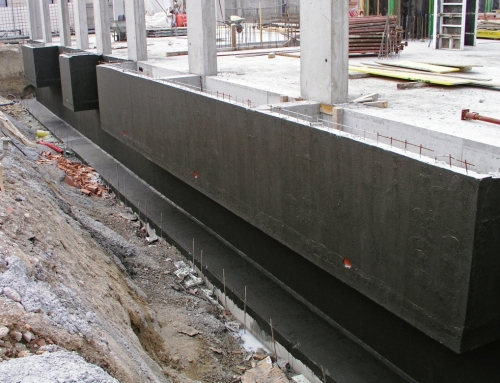 Гидроизоляция при строительстве дома